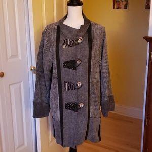 Tops - Tunic Style Jacket